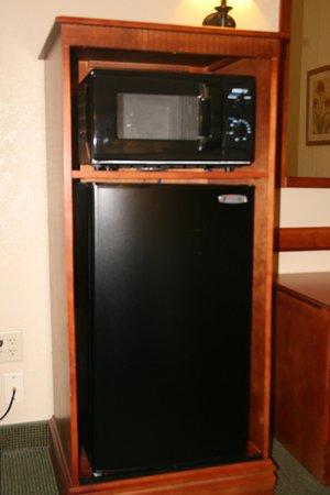Easley, Carolina del Sud: Microwave and Refrigerator
