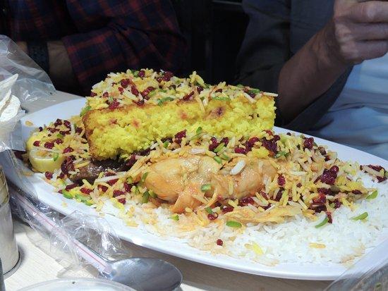 Gateau de riz poulet