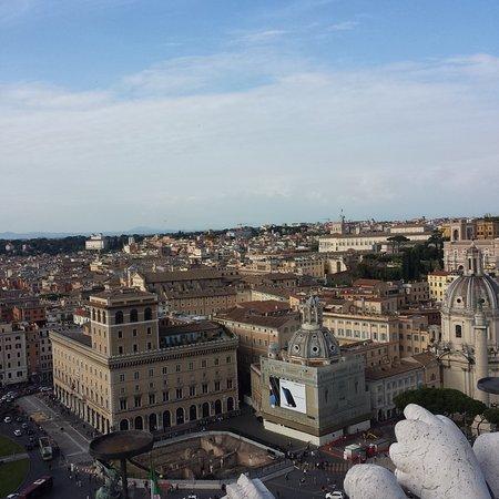 la terrazza delle quadrighe - Picture of Complesso del Vittoriano ...