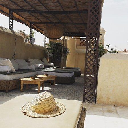 Riad Vert Marrakech: Terrasse de toit