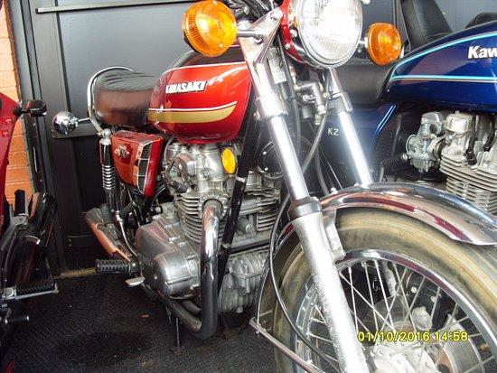 Anamosa, Αϊόβα: Kawasaki Z400 ( my first Jap bike)