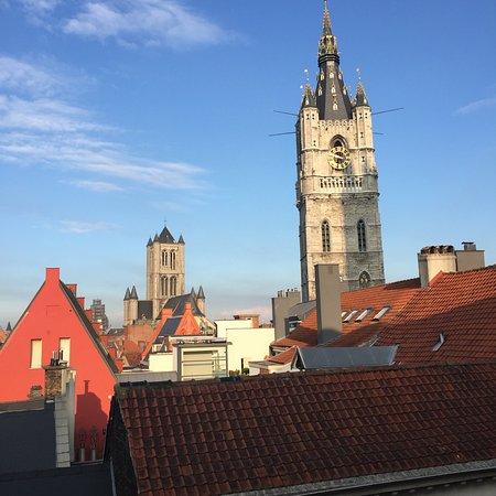 Ibis Gent Centrum St-Baafs Kathedraal: Vista desde la habitación