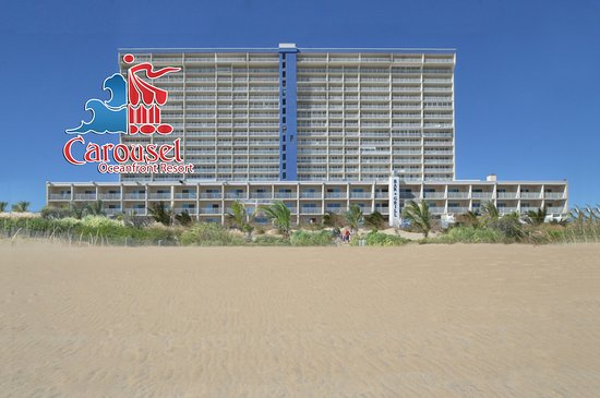 Carousel Resort Hotel & Condominiums: Oceanfront view