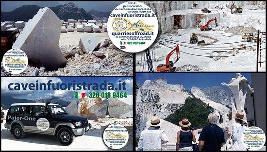 Cave di Marmo di Carrara in Fuoristrada 4x4