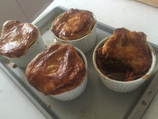 Mountain Ash Farm : Wild Mushroom Pot Pies