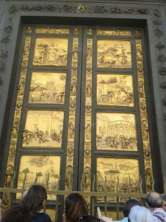 Baptistery of San Giovanni (Battistero): The baptistry Doors \