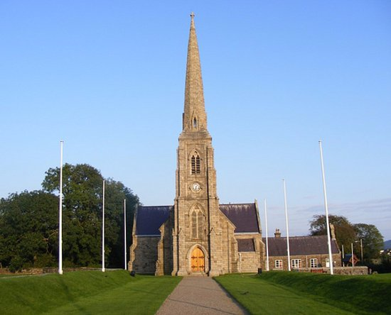 Peel, UK: Igreja de Saint John's Ilha de Man
