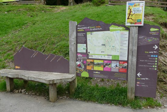 Braithwaite, UK: plenty of info boards