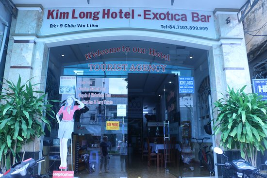 Kim Long Hotel: Hotel front