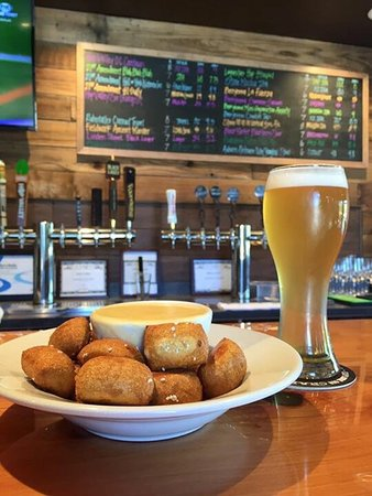 Delicious food, local wine, and craft beer choices!