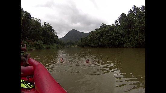 Bentota, Sri Lanka: after white water rafting