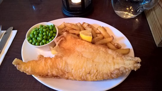 The Old Smiddy: Fish and chips