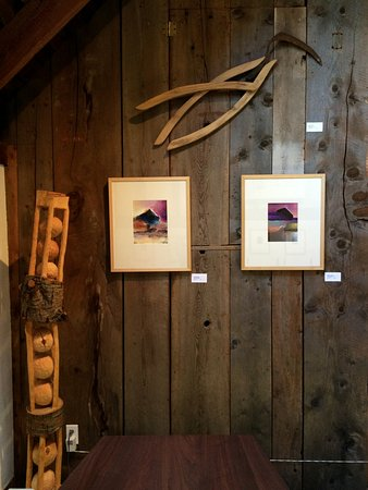 Deer Isle, ME: Upstairs in Barn Gallery