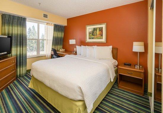 Spokane Valley, WA: Suite Bedroom
