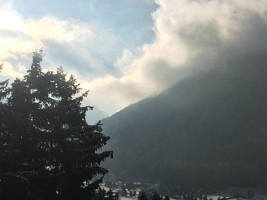 Hotel Edelweiss Davos: Aussicht von der Edenweiss Suite