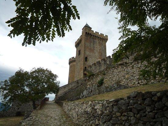 ฟัวซ์, ฝรั่งเศส: rampe d'accès au château