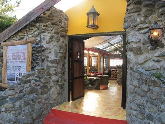 Refugio La Brisa del Diablo Bed & Breakfast: The Porch