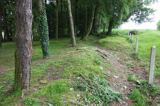 Albert, Frankrike: The Old British Front Line, Sheffield Memorial Park