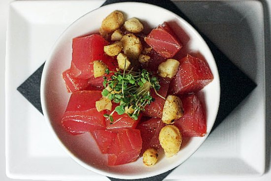 Highwood, IL: Chef Jeff's tuna poke