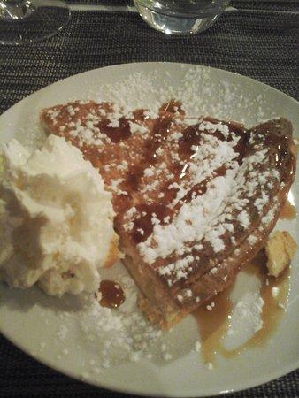 Saint-Georges-de-Didonne, France: gâteau basque très savoureux