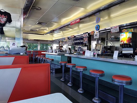 Dillsburg, PA: Decorated in the old diner style