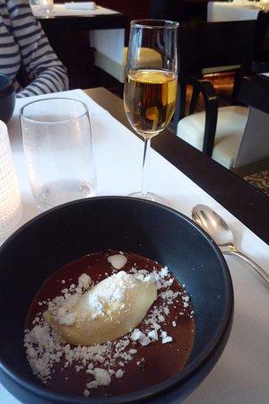 CUISINEMOI : le dessert chokotoff et son verre de Rivesaltes