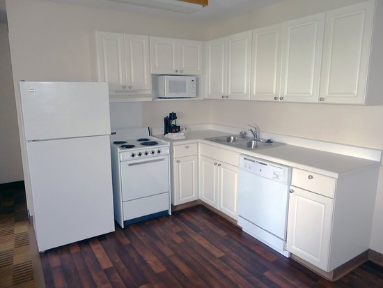 Colfax, Carolina del Norte: Fully-Equipped Kitchens