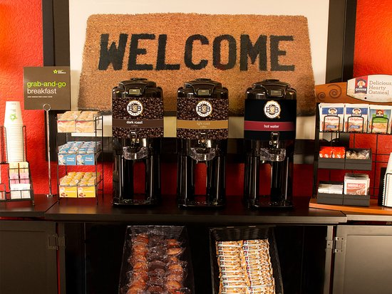 Extended Stay America - Detroit - Southfield - Northwestern Hwy. : Free Grab-and-Go Breakfast