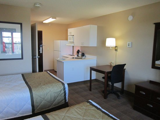 Extended Stay America - Fremont - Newark: Studio Suite - 2 Double Beds
