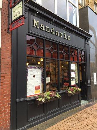 Michael Wan's Mandarin Cantonese Restaurant: Mandarin frontage