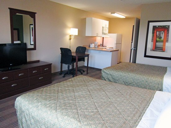 Extended Stay America - Tampa - Airport - Spruce Street: Studio Suite - 2 Double Beds