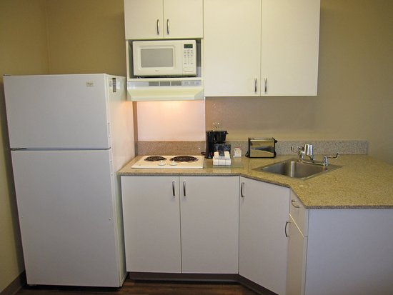 Belmont, Californië: Fully-Equipped Kitchens