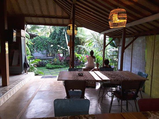 Hati Padi Cottages: la salle commune