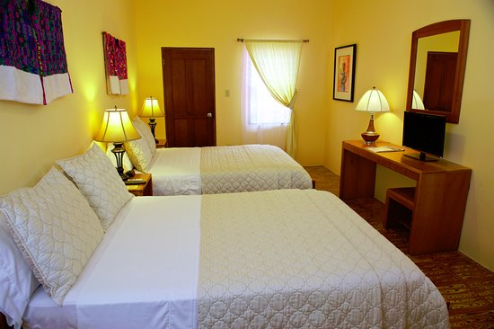 Punta Gorda, Belice: Room #3 with two full size beds