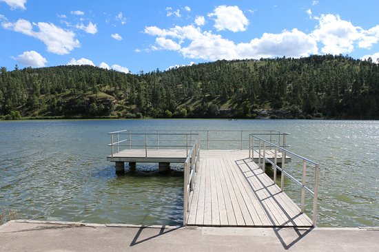 Silver City, NM: Lake Roberts Fishing Pier