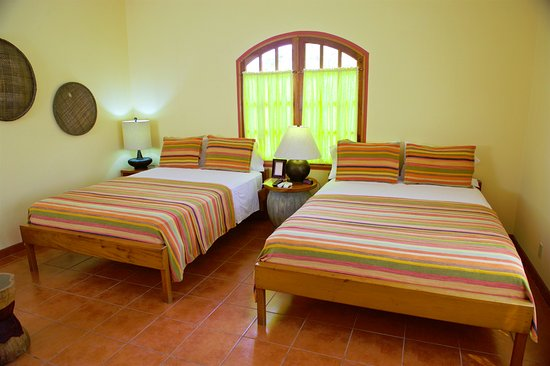 Punta Gorda, Belice: Room #1 with two queen size beds