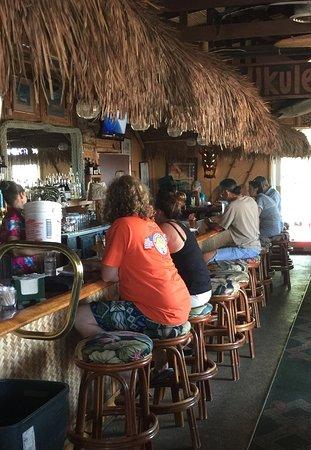 Kawaihae, Hawái: inside view of restaurant