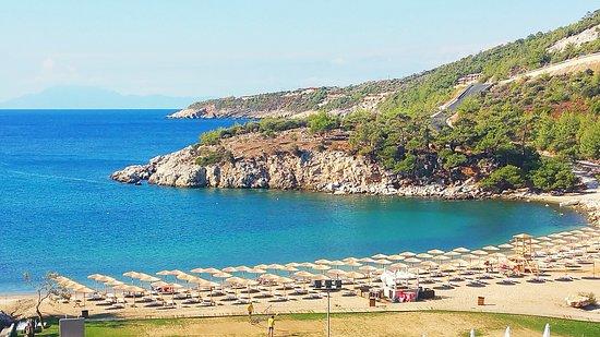 Agios Ioannis Beach And The 5 Hotel Bild Von Thassos Grand Resort