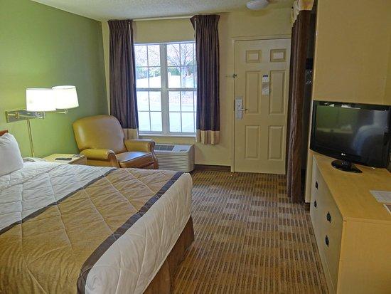 Extended Stay America - Durham - University: Studio Suite - 1 Queen Bed
