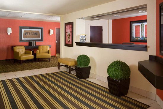 Extended Stay America - Orange County - Irvine Spectrum: Lobby and Guest Check-in