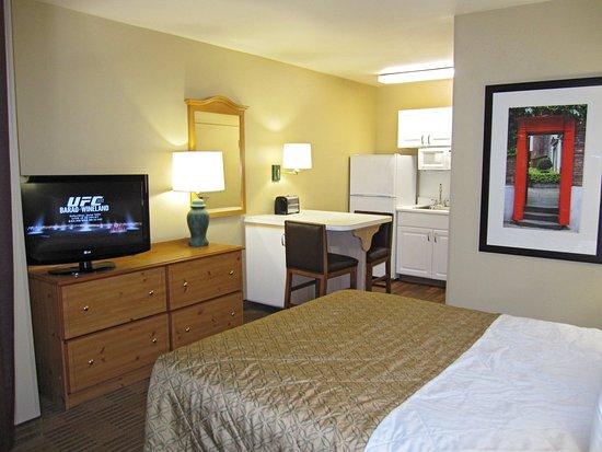 Milpitas, Kalifornia: Studio Suite - 1 Queen Bed