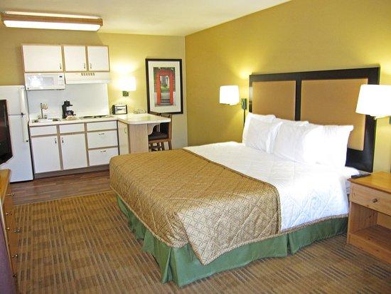 Milpitas, Kalifornien: Studio Suite - 1 King Bed