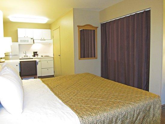 San Mateo, Kalifornien: Studio Suite - 1 King Bed