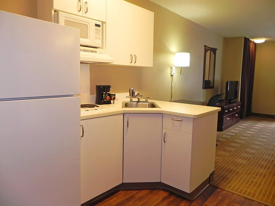 Extended Stay America - Charlotte - Pineville - Park Rd.: Fully-Equipped Kitchens