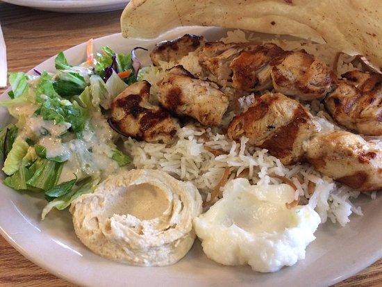 Burke, VA: Chicken kabob