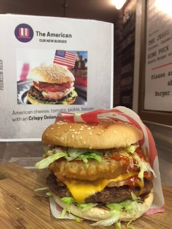 Killorglin, Irlanda: American Burger