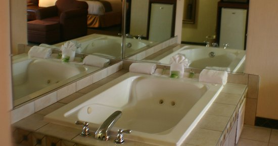 Holiday Inn Express & Suites Ex I-71/ Oh. State Fair/Expo Center: A relaxing soak awaits!