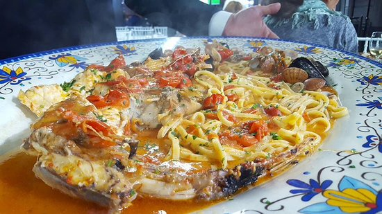 A Figlia Do Marenaro Whole Monkfish In Therethey Pulled The