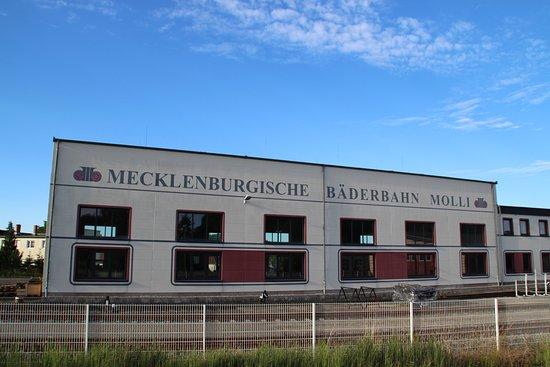 บาดโดเบอราน, เยอรมนี: De stoomtrein in Bad Doberan