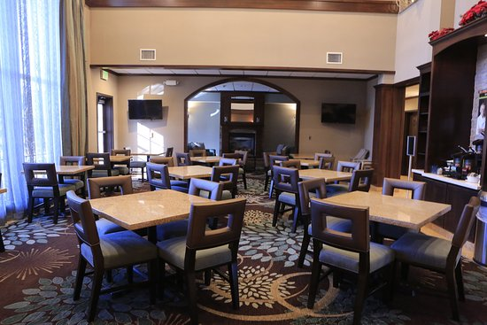 Milpitas, Californië: Guest Dining Lounge